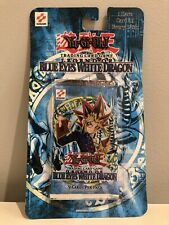 Yu-Gi-Oh! Legend of Blue Eyes White Dragon (LOB) New Sealed Booster Blister Pack
