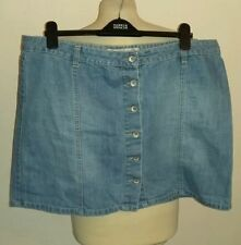 New Look Denim Plus Size Skirts for Women