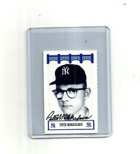 1992-WIZ ny YANKEES of the 60's auto SIGNED pete MIKKELSEN classics AT&T team 92