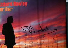 Signed RICHARD HAWLEY LP Further SOLD OUT Black Vinyl
