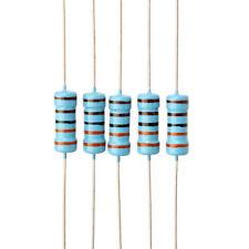 500Pcs 100 Values +/-1% 1ohm~1M 1W (1 Watt) Metal Film Resistor Assortment Kit