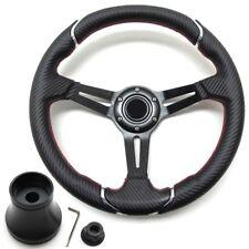 Pro-Fit 14-inch Steering Wheel Carbon Fiber E-Z-GO 2008-2019 RXV - PF12038PKG