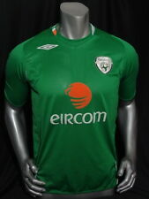 Umbro Authentic Ireland home soccer jersey 2006-2007 size S