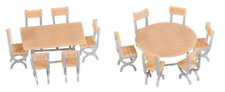 Faller 180957 Tables (2) & Chairs (12) Kit III HO OO Gauge