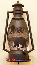 Electric Metal Bear Lantern Night Light