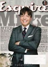 ESQUIRE MAGAZINE - MIKE MYERS COVER + SNOOP DOG + ELIZABETH BANKS