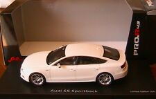 AUDI S5 SPORTBACK  2010 WHITE SCHUCO PRO R 08807 1/43 SPORTIVE WEISS BLANCHE