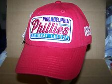 Philadelphia Phillies 1883 AMERICAN NEEDLE COOPERSTOWN -RED  HAT STRAP ADJ. -