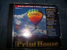 Corel Print House All in One Graphics PowerHouse Software for IBM PC - SWQ025-P