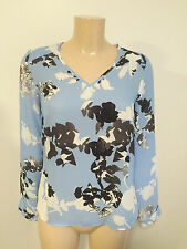 Unbranded Waist Length V Neck Floral Tops & Shirts for Women