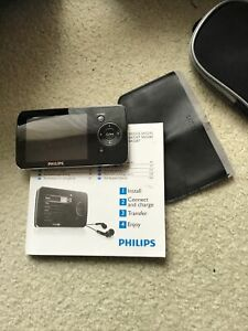 Philips GoGear SA5245 Video Audio Radio MP3 Player 8GB With Instructions