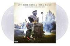 MY CHEMICAL ROMANCE May Death Never Stop You 2xLP CLEAR/WHITE Vinyl w/DVD New