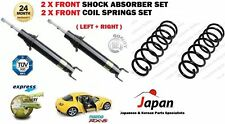 FOR MAZDA RX8 1.3 2003-2012 2X FRONT LEFT RIGHT SHOCK ABSORBER + COIL SPRING SET