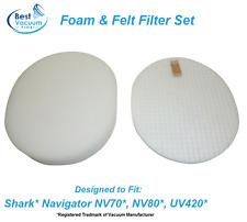 Washable Foam & Felt Vacuum Filter for Shark NV70 NV80 NV90 UV420 XFF80