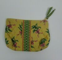 Vera Bradley HOPE Pattern Small Zip Up Quilted Pouch RETIRED Vintage Floral