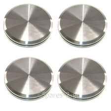 4 x NEFF Genuine Oven Cooker Point & Twist Knob Grill Hob Switch Dial Silver