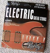 Roling's A508V muta completa corde scalate da 009-042 per chitarra elettrica