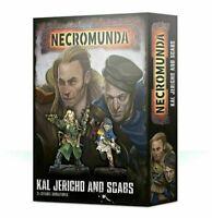 Necromunda Kal Jericho and Scabs Warhammer 40K