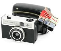 #Flashcube_pack#Philips_unused#Agfa_Iso-Rapid_C_camera,leather_case_Exc.