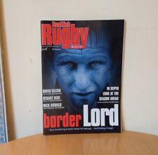 SCOTTISH RUGBY MAGAZINE-SEPTEMBER 2002-ISSUE 135