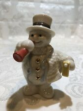 Celebration Snowman-January - No Box Twelve Months of Snowmen