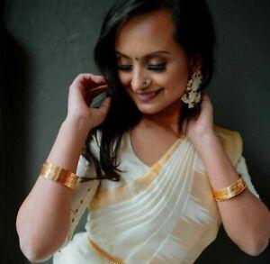 Banarasi Indian silk saree formal ethnic wear bollywood wedding Designer sari