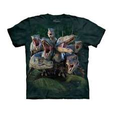 The Mountain Kid's 100% Cotton Green T-Shirt Raptor Gang Tee L Made in USA NWT