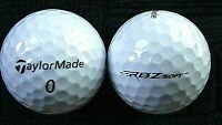 "10 TAYLORMADE  ""RBZ"" - ""SOFT"" - Golf Balls - ""PEARL/A"" Grades."
