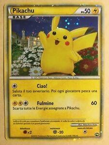 Pikachu Pokemon 2010 Holo PW Pikachu World (Japan Release) Italian EX+