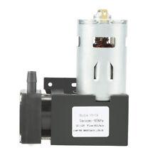 DC12V 42W Mini Small Oilless Vacuum Pump -85KPa Flow 40L/min Advanced Quality