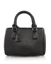 Borsa Donna a Mano Nera a Tracolla Piccola Lux Tote Women Handbag Crossbody Bag