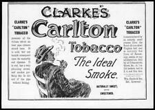 1899 Antiguo Impresión Publicidad Clarkes Carlton tabaco (29)