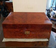 Vintage Davidoff humidor No. 4 Medium in Thuya brilliant wood