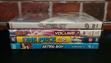 Anime 4-DVD Lot: ONE PIECE, EUREKA SEVEN, ASTRO BOY & BEYBLADE: METAL FUSION