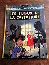 les bijoux de la castafiore EO Belge B34 (1963)  Hergé casterman Côte BDM + 250e