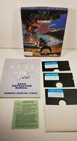 Vintage 1989 Navy SEAL Sea Air Land Commando PC/Tandy Game 5.25 in Floppy Disk