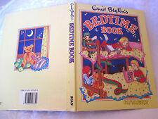 Enid Blyton's BEDTIME BOOK vintage large HC 1987 Rene Cloke Eileen Soper etc