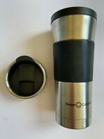 GREEN CANTEEN 16 oz. Stainless Steel Double Wall Travel Mug Wrap Tumbler Coffee