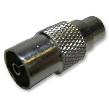 RCA Phono Female Socket/TV PAL IEC Female Coaxial Socket Adapter Connector(2 Pk)