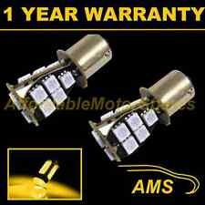 2X 581 BAU15S PY21W XENON AMBER 18 SMD LED FRONT INDICATOR LIGHT BULBS FI201403