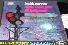 BUDDY MORROW Night Train Goes to Hollywod LP RARE MONO WLP PROMO