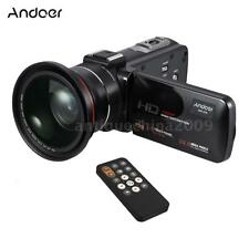 Andoer WiFi FULL HD 1080P 24MP Digital Video Camera DV Camcorder Wide Angle Lens