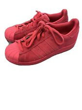 Adidas Superstar Bright Pink Trainers UK Size 5.5/38.5