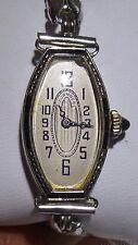 Tavannes Filigree Watch 18K White Gold BK Laminate 16 Jewels 3 Adjust Antique