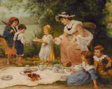 Charity by Frederick Morgan - Children Rich Poor Share  8x10 Print Picture 1631