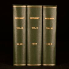 1936-8 3Vol G Crawford Roland Austin Antiquity A Quarterly Review of Archeology