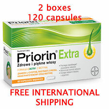 PRIORIN Extra 120 (2x60) capsules against hair loss / regrowth treatment / BAYER