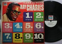 Soul Lp Ray Charles Take 10 With Ray Charles On Grand Prix