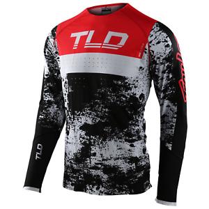 Troy Lee Designs SE ULTRA Jersey TLD Mx Motocross Dirt Bike Atv Gear ROCKET RED