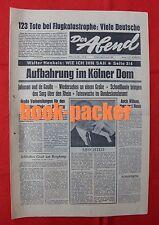DER ABEND (20.4.1967): Aufbahrung im Kölner Dom [Konrad Adenauer+]